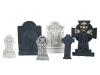 EUROPALMSHalloween Tombstone Set Cemetary