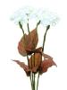 EUROPALMSHortensie, weiß mit Blüten, 100 LEDs
