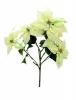 EUROPALMSPoinsettia bush, cream, 60cm