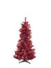 EUROPALMSFir tree FUTURA, red metallic, 180cm