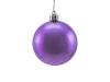 EUROPALMSDeco Ball 6cm, purple, metallic 6x