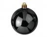 EUROPALMSDeco Ball 10cm, black 4x
