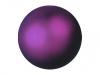 EUROPALMSDeco Ball 3,5cm, violet, metallic 48x