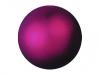EUROPALMSDeco Ball 3,5cm, pink, metallic 48x