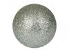 EUROPALMSDeco Ball 3,5cm, silver, glitter 48x