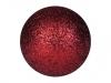 EUROPALMSDeco Ball 3,5cm, red, glitter 48x