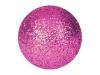 EUROPALMSDeco Ball 3,5cm, pink, glitter 48x