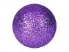 EUROPALMSDeco Ball 3,5cm, violet, glitter 48x