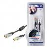 HQUSB - USB Datenkabel 1,8 Meter A male auf A female USB2.0