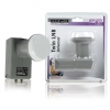 König Twin LNB Universal Digital TV 0,6dB 40mm Feed f. 2 LNB1-TWINKN-NL
