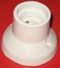 RelcoPTL.E27 633 Keramik Lampenfassung gerade weiss 4A 250V