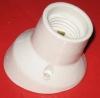 RelcoPTL.E27 643 Keramik Lampenfassung abgewinkelt weiss 4A 250V