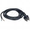 EGBAnschlussleitung H07RN-F 2x1mm² schwarz 3m