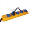 Brennenstuhl5-fach Steckdosenverteiler SL 544 D 1159900205