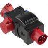 PCE9439500 Kompaktverteiler 89x117x202mm schwarz