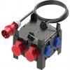 PCE9030020 Standverteiler 197x197x200mm schwarz
