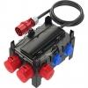 PCE9130007 Standverteiler 285x235x281mm schwarz