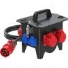 PCE9473022 Standverteiler 285x235x281mm schwarz