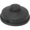VLMFußtret Schalter oval schwarz Einführungen gegenüberliegend