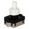 Inter BÄRDruck-Einbau Serienschalter weiß 8 mm Druck-Einbau-Schalter