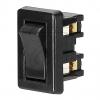 EGB Wipp-Einbauschalter 2A / 029289 schwarz 057395->Preis für 5 STK! EUR 0.570 je STK