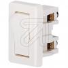EGB Wipp-Einbauschalter 2A / 029288 weiß 057400->Preis für 5 STK! EUR 0.570 je STK
