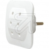 Free Control3-fach Adapter EURO-KOPP arktis-weiß 1749.0200.5