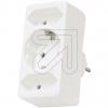 HölterSchuko-Euro-Adapter weiß 49151 58537