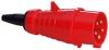 ABL SursumCEE Stecker 5x16A 3P+N+PE, VDE, IP44, 400V, 6h CEE Stecker 5x16A rot