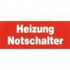 EGBAufkleber Heizungs-Notschalter->Preis für 10 STK!EUR 1.24 je STK