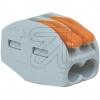 WAGOVerbindungsklemme 2x4mm² 222-412->Preis für 50 STK!EUR 0.26 je STK