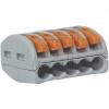 WAGOVerbindungsklemme 5x4mm² 222-415->Preis für 40 STK!EUR 0.52 je STK