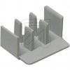 FTGEndkappe für 3-Phasen Gabel-Sammelschiene, T A4->Preis für 50 STK!EUR 0.47 je STK