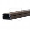 KleinhuisKabelkanal 15x15 braun Leitungskanal PVC-hart, Nenngröße HxB