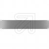 EGBBlindplatte 19 2 HE grau 691266