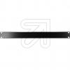 EGBBlindplatte 19 1 HE schwarz 691265TS