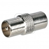 Axing Koax-Übergangsstück CKA 1-00 Stecker / Stecker 257635->Preis für 10 STK! EUR 0.677 je STK