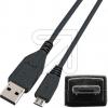 EGBUSB A-Stecker auf USB-A Microst. 0,5m 77170