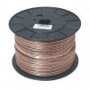 eku Kabel & SystemeFlachleitung HFL 2x2,5 transparent BauPVO-EN 50575/Brandklas->Preis für 100 Meter!EUR 1.01 je Meter
