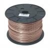 eku Kabel & SystemeFlachleitung HFL 2x4,0 transparent BauPVO-EN 50575/Brandklas->Preis für 100 Meter!EUR 1.46 je Meter