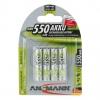 AnsmannNiMH-Akku Micro AAA 550 mAh 5030772->Preis für 4 STK!EUR 1.75 je STK