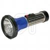 ArtasTaschenlampe vernickelt 2 Mono Stahlblech Taschenlampe Made