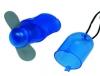 Mini FanBatterieventilator mit 2 flexiblen Nylonflügeln,Schiebeschal