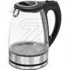 Clatronic263935 Glas-Wasserkocher WKS 3744 G CB