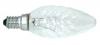 NeoluxKristallkerzen 25W/230V E14 klar Kerzenlampen gedreht