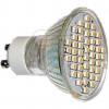 EGBLED Lampe GU10 SMD High Power LED ws mit Schutzglas EAN 4027