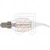 EGBFilament Windstoßlampe klar E14 2W 250lm 2700KEEK:A++/Garantie 3 Jahre
