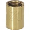 BendlerVerbindungs-Muffe M10 12x14 ms. poliert Länge 14mm Durchm.12mm M10