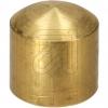 EGBAbschluß-Knopf messing roh M10 innen 1880.1212.0101.3101->Preis für 5 STK!EUR 0.85 je STK