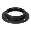ElectroplastIso-Fassungs-Ring E14 schwarz->Preis für 5 STK!EUR 0.17 je STK
